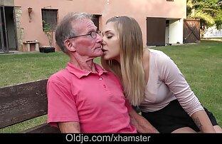 პატარა სექსი ვიდეო ძველი და ახალგაზრდა rocking დედა Olsen სცემეს